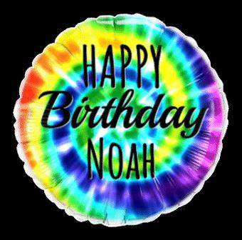 Birthday Colourful Swirls