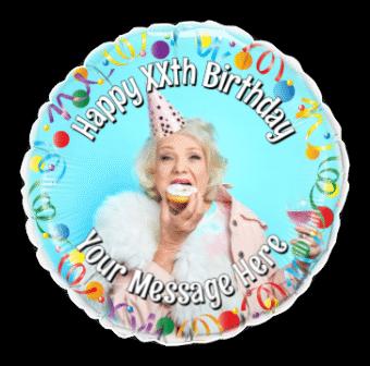 Any Age Birthday Photo Upload