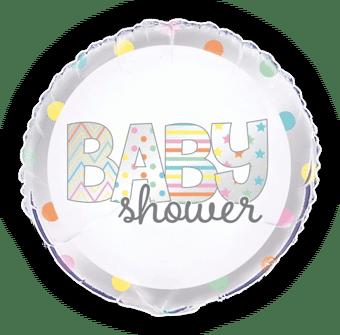 Baby Shower Silver Spots