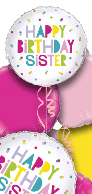Happy Birthday Sister Balloon