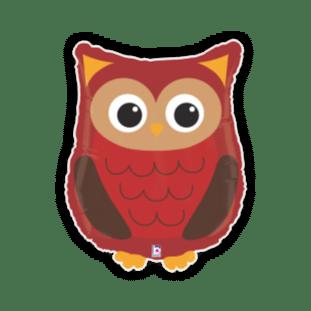 Woodland Creature Owl Balloon