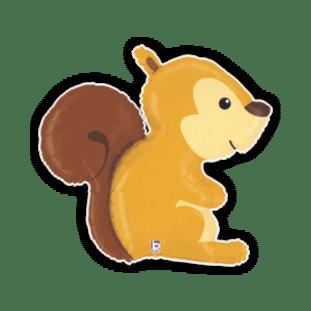 Woodland Creature Squirrel Balloon