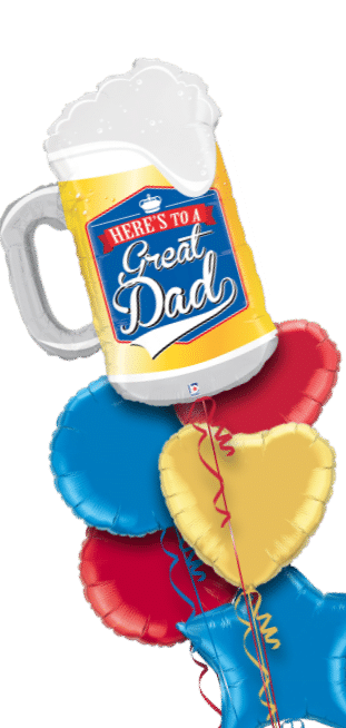 Great Dad Pint Balloon