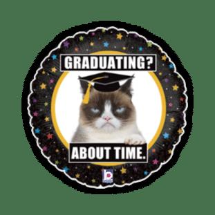 Grumpy Cat Graduation Balloon