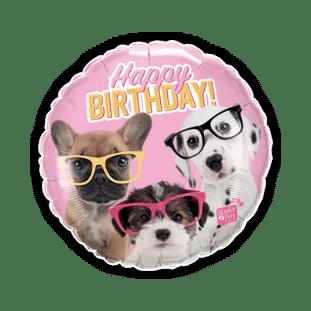 Happy Birthday Pups Balloon