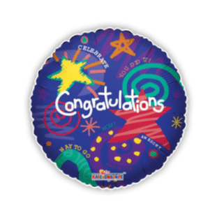 Congratulations You Did It Balloon