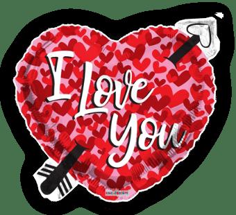 I Love You Heart and Arrow