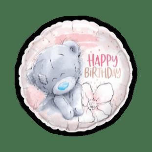 Me To You Birthday Flower Balloon