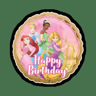 Disney Birthday Princesses Balloon