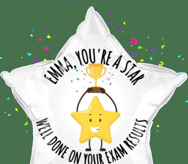 You're a star balloon