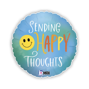 Sending Happy Thoughts Balloon