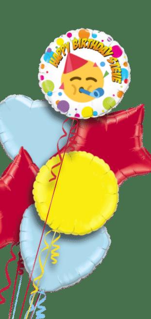 Birthday Emoji Balloon