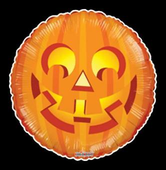 Happy Glowing Pumpkin