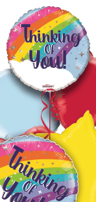Thinking of You Rainbow Balloon