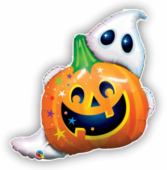 Pumpkin and Ghost