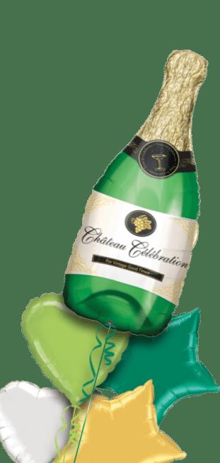 Champagne Bottle Balloon