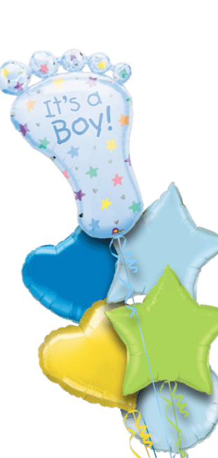 Its a Boy Baby Foot Balloon
