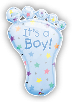 Its a Boy Baby Foot