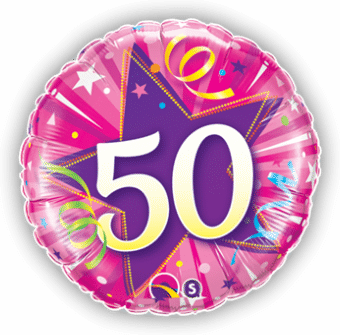 50th Pink Star