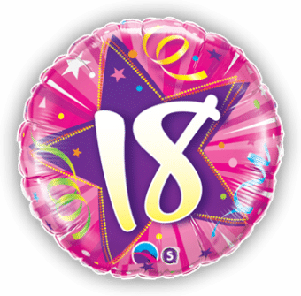 18th pink Star
