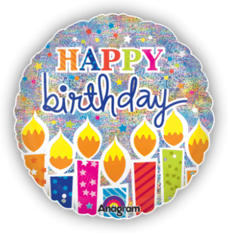 Shimmer Birthday Candles