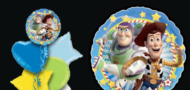 Buzz And Woody Stars  Balloon