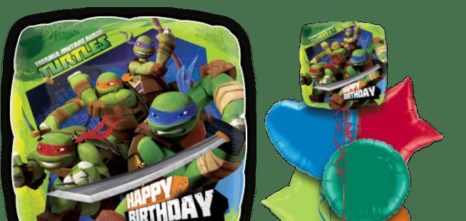 Teenage Mutant Ninja Turtles Birthday Balloon