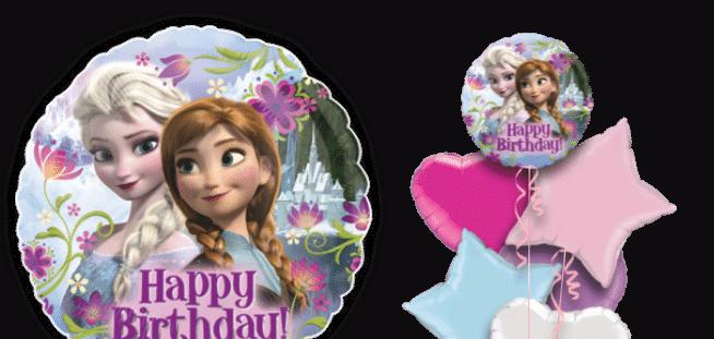 Frozen Happy Birthday Balloon