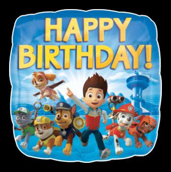 Happy Birthday Paw Patrol Team