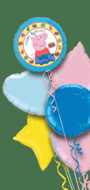 Birthday Cake Peppa Pig Balloon