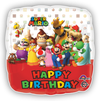 Happy Birthday Super Mario Crew