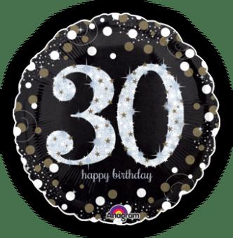 Glimmer Confetti 30th Birthday