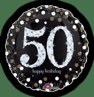 Glimmer Confetti 50th Birthday