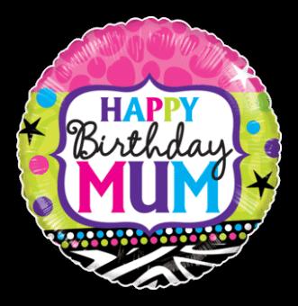 Birthday Mum Bright