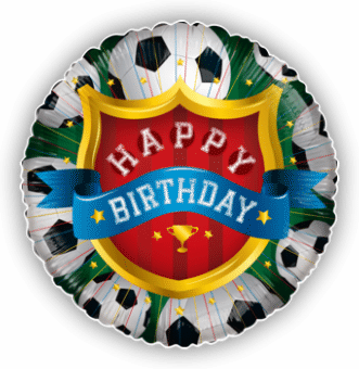 Football Champions Birthday