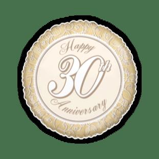 Happy 30th Anniversary Golds Balloon