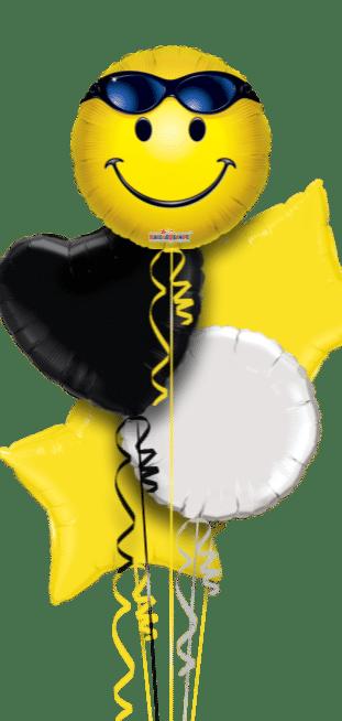 Smiley Sunglasses Face Balloon