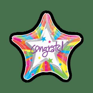 Congrats Star Balloon