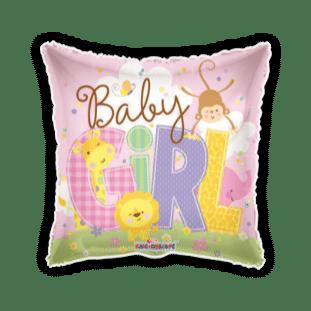 Baby Girl Animals Balloon