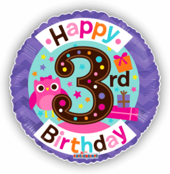 3rd Birthday Girl