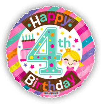 4th Birthday Girl