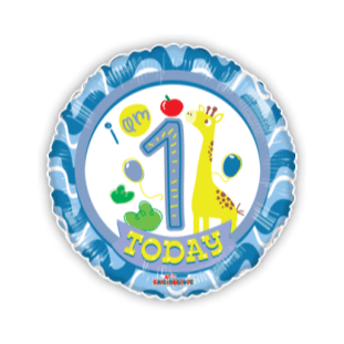 Special 1st Birthday Boy Balloon