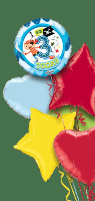 3rd Birthday Boy Balloon