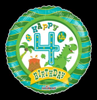 4th Birthday Boy
