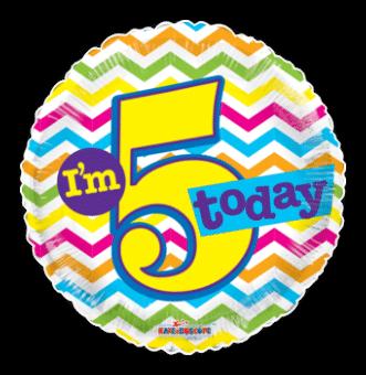Im 5 Today  5th Birthday