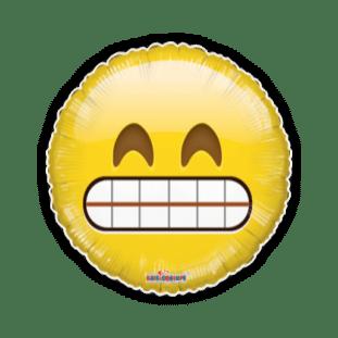 Grinning Emoji Balloon