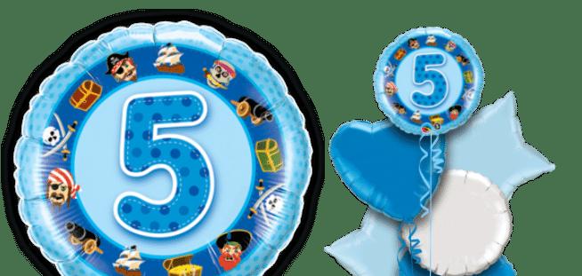 Birthday Boy 5th Balloon