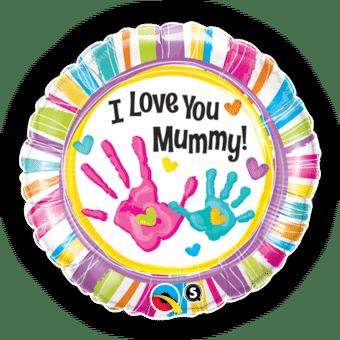 Love You Mummy Handprints