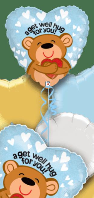 Big Get Well Hug Balloon