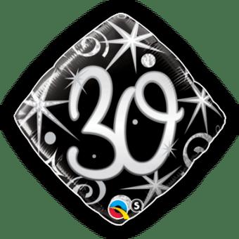 30th Birthday Diamond Stars